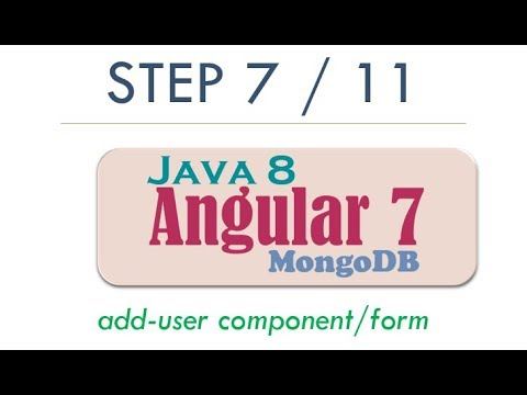 Complete Angular 7 Step By Step User CRUD with Java 8 REST, MongoDB   2019 Tutorial   Step 7 thumbnail
