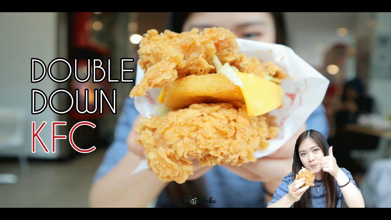 DOUBLE DOWN!! MENU BARU DARI KFC!!! - YouTube