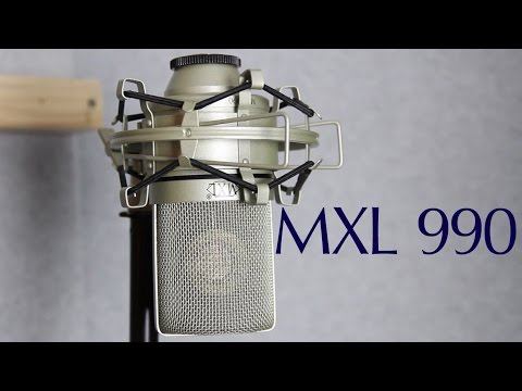 MXL 990 Review & Demo as Vocal Microphone