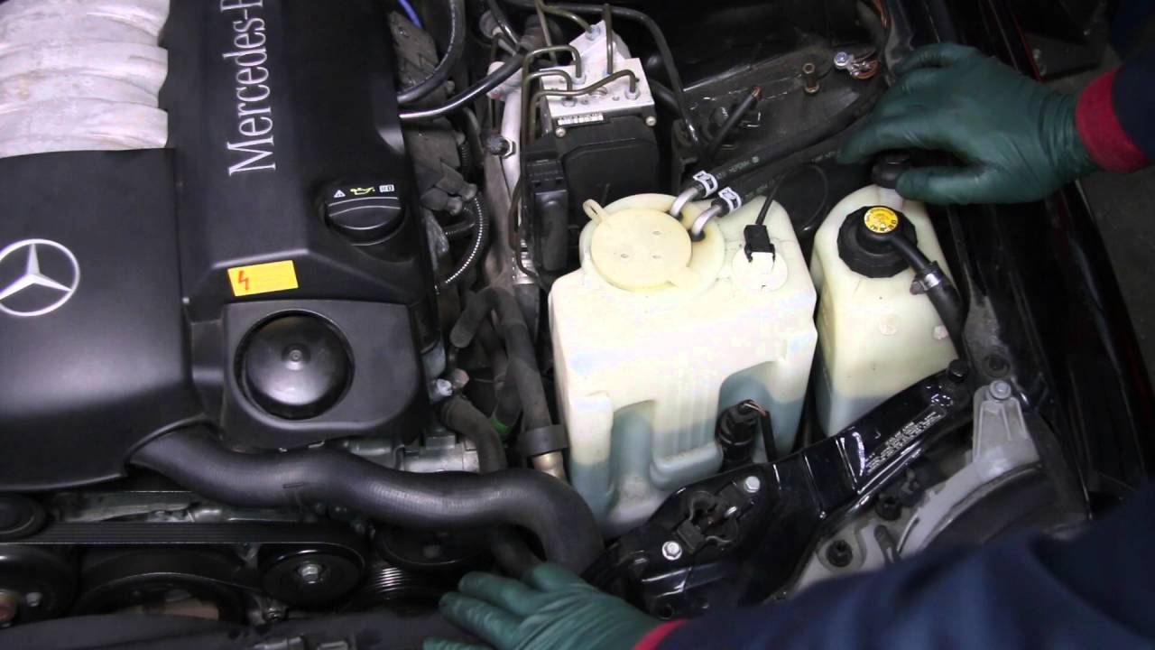 medium resolution of mercedes self leveling rear suspension sls part 9 w210 e320 wagon rh youtube com 1997 mercedes e320 problems 1995 mercedes e320 engine diagram