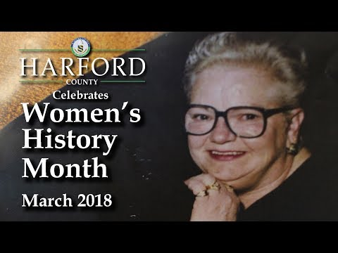 Harford County Celebrates Women's History Month 2018