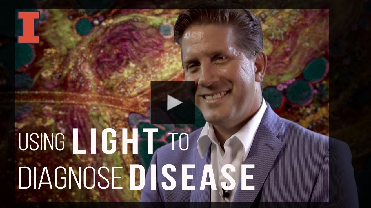 A screenshot from Using Light to Diagnose Disease