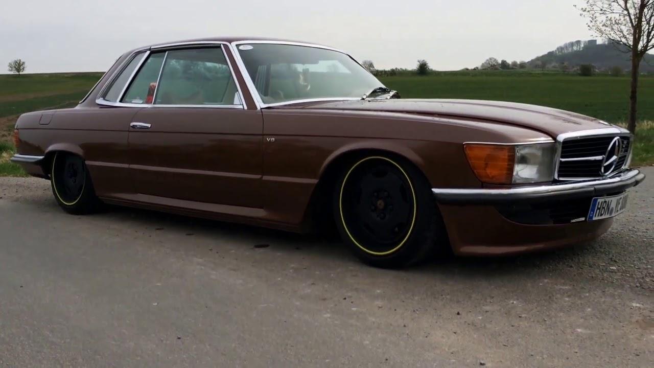 Mercedes benz 450 slc v8 oldschool retro h kennzeichen doovi for V8 mercedes benz