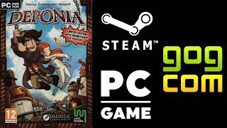 Deponia 100% ALL ACHIEVEMENTS Walkthrough Gameplay NO COMMENTARY
