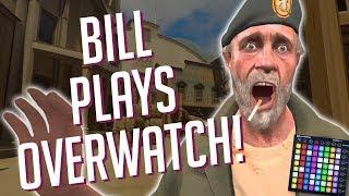 BILL Plays OVERWATCH! Soundboard Pranks & Stunning Reactions!