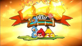 Angry Birds 2 Levels 1 - 15 Cobalt Plateaus Feathery Hills (No spells)