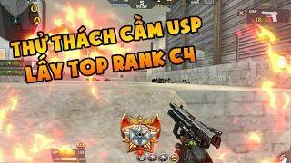 CF Mobile / CF Legends : Thử Thách Cầm USP Lấy TOP Rank C4 - Việt Thắng Gaming