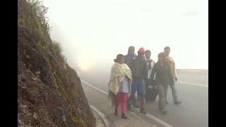 El páramo de Berlín: el paso que aterra a los venezolanos caminantes | Noticias Caracol
