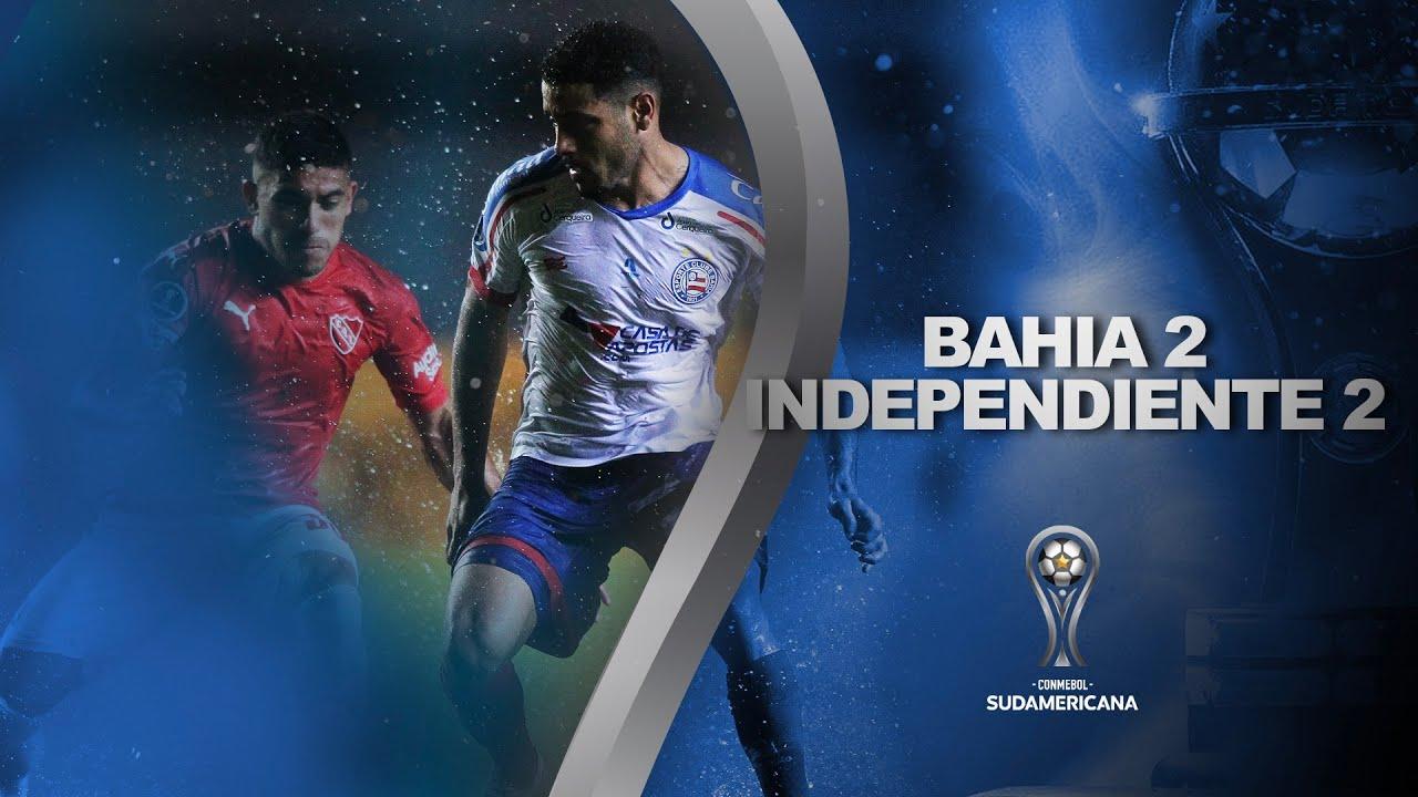 Bahia reage depois de sair atrás, mas perde pênalti e fica no empate com Independiente
