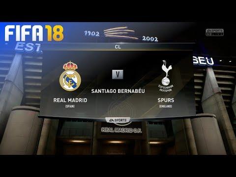 FIFA 18 - Real Madrid vs. Tottenham Hotspur @ Estadio Santiago Bernabéu