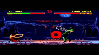 Mortal Kombat II - Mortal Kombat 2 (GEN) - Vizzed.com GamePlay - User video