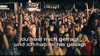 Rammstein - Du Hast - Wacken 2013 Live (lyrics) HD