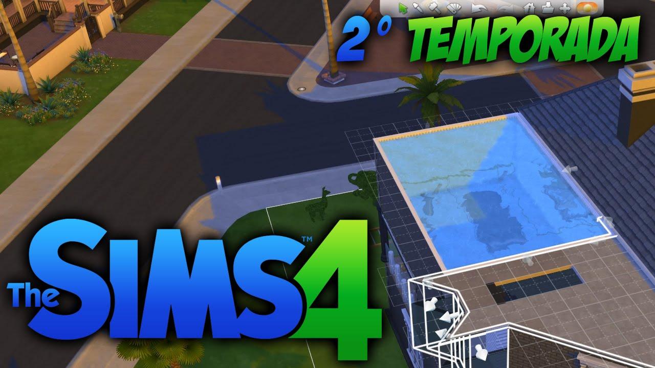 The sims 4 segunda temporada 50 piscina no terra o for Piscina sims 4