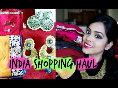 Haul| Indian Clothes/Jewelry Shopping Haul|stylewidsus
