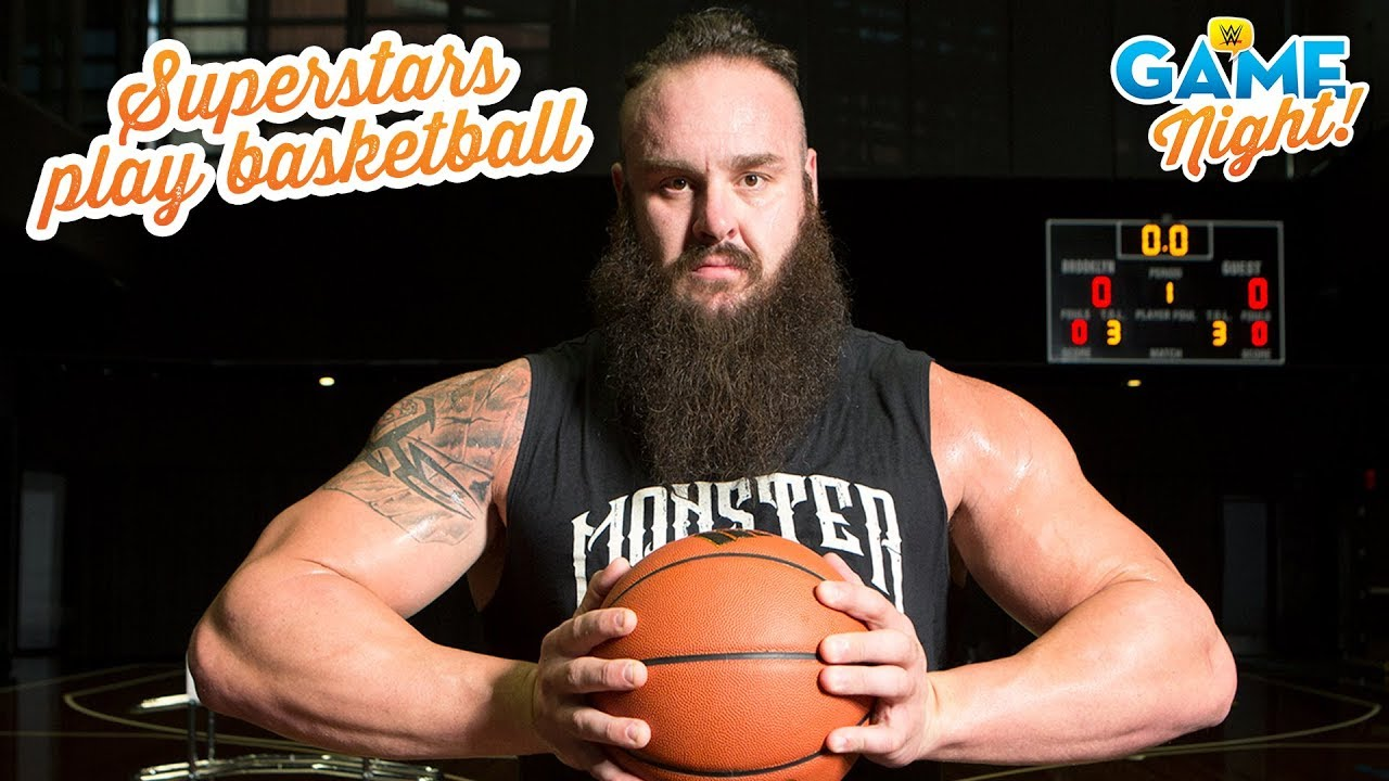 WWE Superstar basketball shootout: WWE Game Night