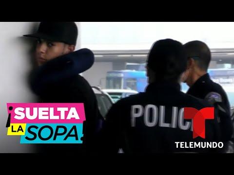 Natanael Cano termina esposado tras tremenda bronca dentro de un avión | Suelta La Sopa