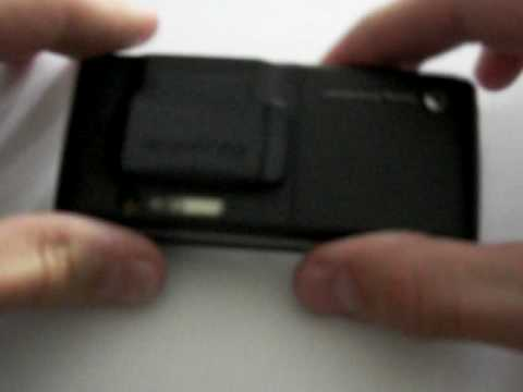 SonyEricsson K800i tuning how to make light 1