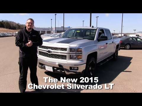 Review: The New 2015 Chevrolet Silverado LT 1500 Minneapolis, St Cloud, Cold Spring, Willmar, MN