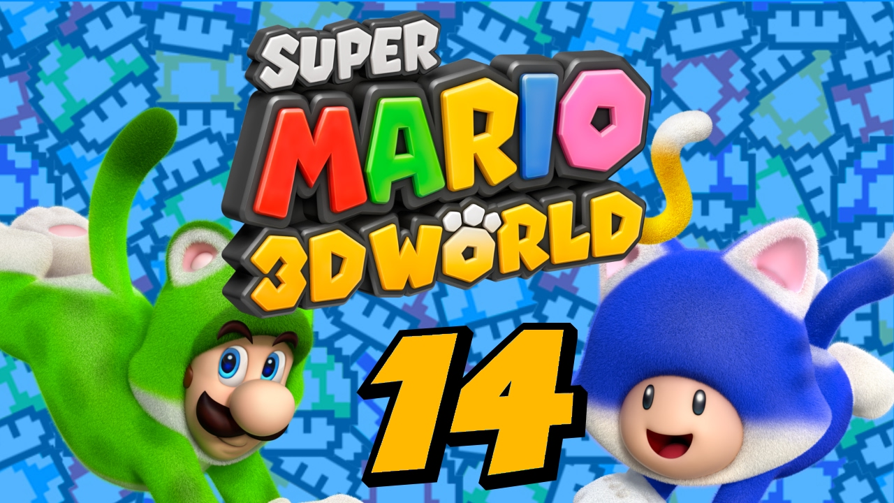 Goomba Masks and Plessie!   Super Mario 3D World (Part 14)