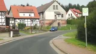 Поездка по Германии Хойтен Тюрингия(Поездка по Германии Хойтен Тюрингия. Небольшоя деревня Хойтен, в которой проживает около 1000 человек, находи..., 2014-10-08T01:05:36.000Z)
