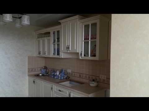 Кухня в стиле Прованс с мдф-фасадами