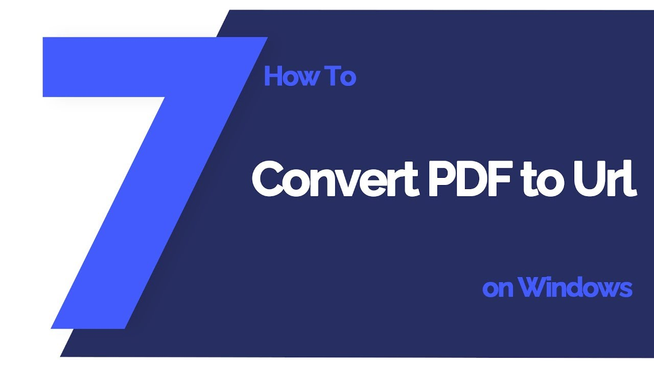 The Best Way to Convert PDF to URL 2019 - Updated   Wondershare