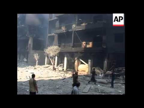 Israelis Shoot Into Lebanon; Maroun Al-Ras; Military On Border, Explosions Shake City In New Israeli