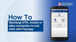 vuclip Learn how to Recharge in One Click with HDFC Bank PayZapp.