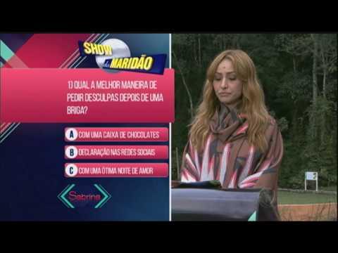 Gusttavo Lima responde perguntas no Show do Maridão