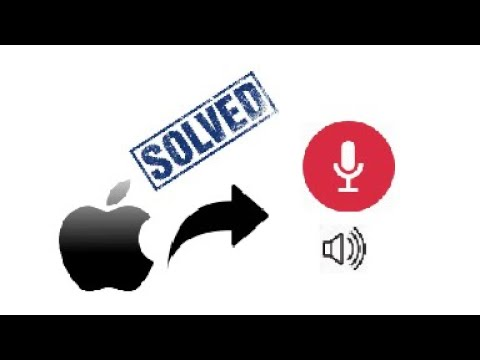 [FIX] APPLE SCREEN RECORDING LOST MICROPHONE AUDIO WITH INTERNAL AUDIO SOLUTION