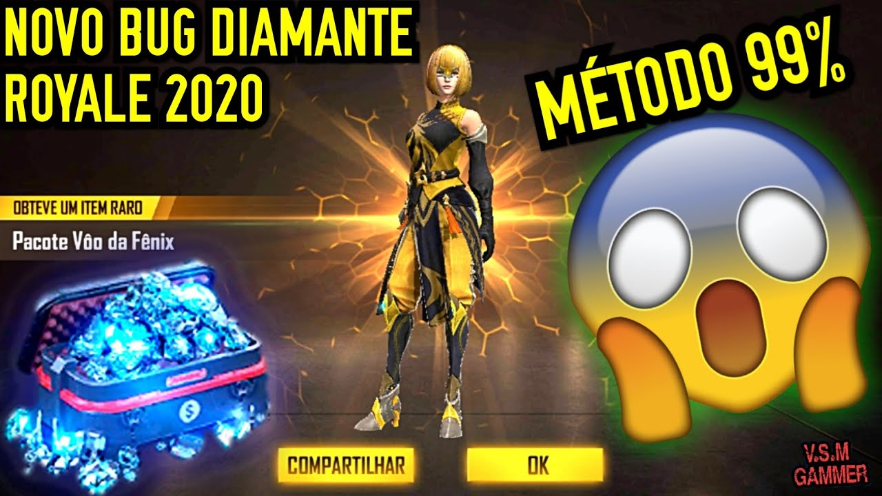 NOVO BUG DO DIAMANTE ROYALE 2020 MÉTODO 99% FUNCIONAL ????????????????