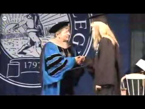 Hartwick College Commencement May 25, 2013 Full Length Video