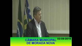 Pronunciamento Hilmar Sérgio 02 09 16