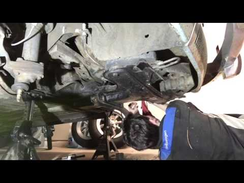 Idler arm, center link, and tie rods install 1302 VW Super Beetle