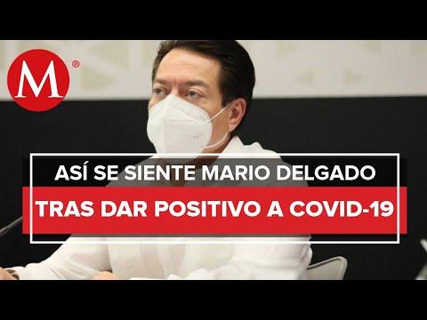 Mario Delgado confirmó su contagio de covid-19