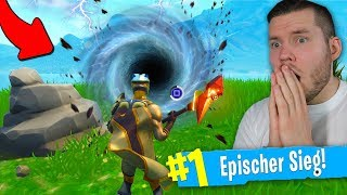 what happens in the new PORTAL in Fortnite?