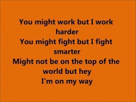 I'm on my way - Charlie Brown Lyrics