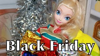 Black Friday Disney Princess Frozen Parody Elsa & Anna Kristoff UGLY Couches Christmas Toys Shopping