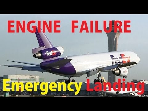 FedEx MD-10 Emergency Landing at Miami Intl