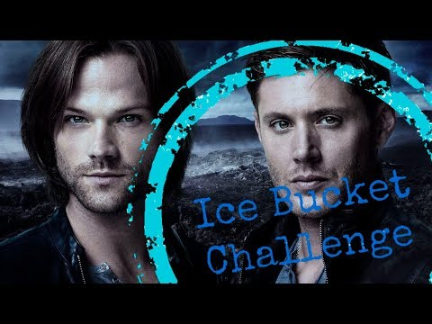 Ice Bucket Challenge SUPERNATURAL cast