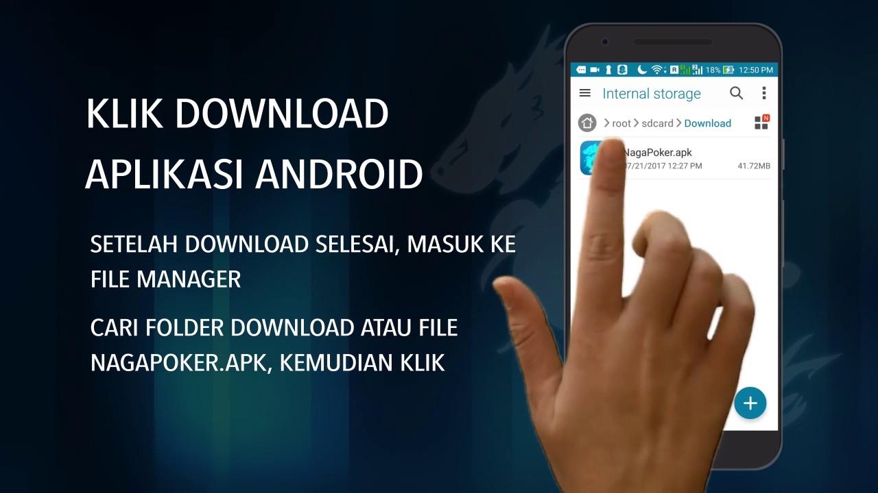 Nagapoker Cara Install Aplikasi Nagapoker Di Android Youtube