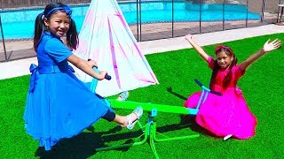 Thank You Song | Wendy & Jannie Pretend Play Nursery Rhymes and Kids Songs