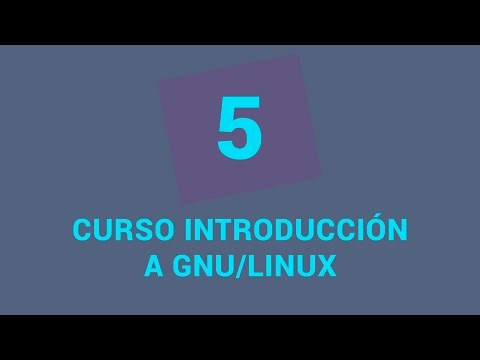 5.- Curso de introducción a GNU/Linux - Entornos de Ubuntu