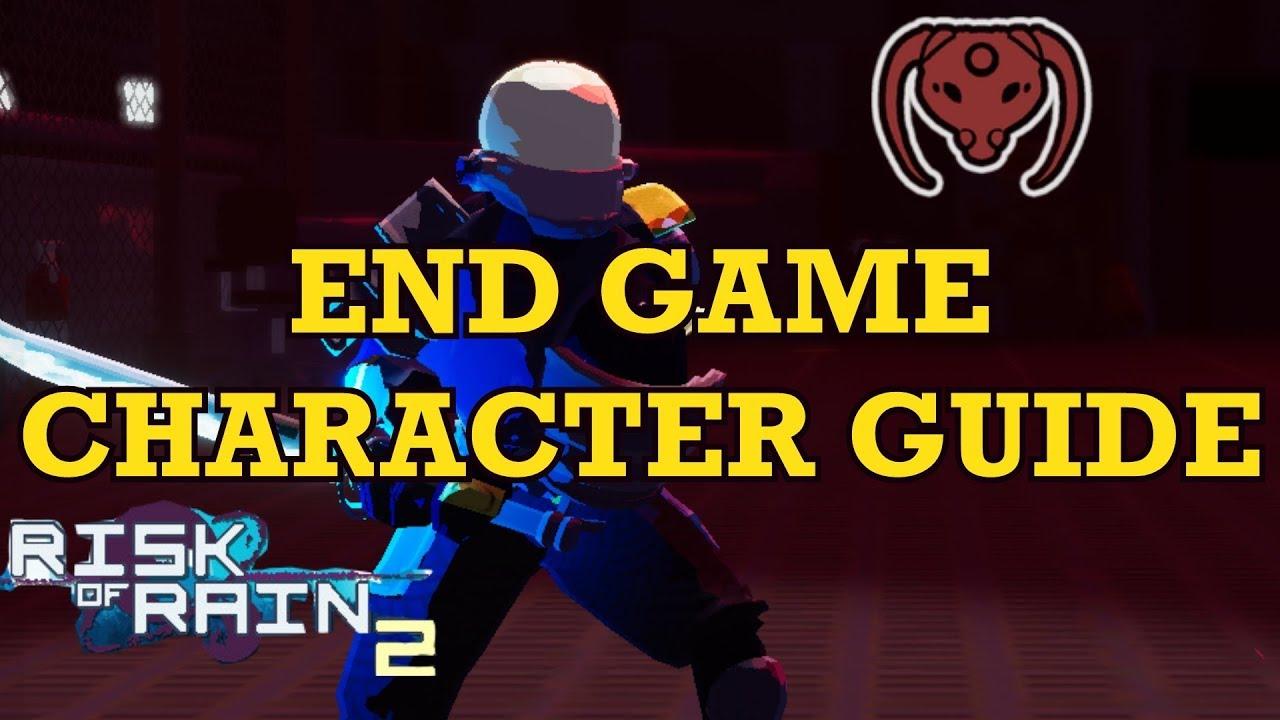 Risk Of Rain 2 Mercenary / Here's how to earn them all.