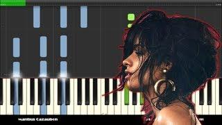 Camila Cabello - Havana Piano Cover and Tutorial ft. Young Thug