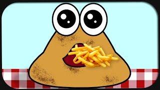 Mein Tamagotchi Kotthaufen namens Pou.