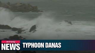 Korea's southern regions preparing for intensive rain as Typhoon Danas nears peninsula