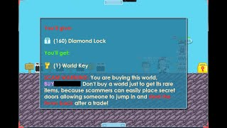 Growtopia - BUYING BUY+ WORLD, Collecting DLS