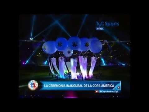 COPA AMERICA - CHILE 2015 - APERTURA