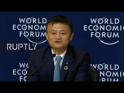 LIVE from WEF 2017: Press conference by Alibaba founder Jack Ma